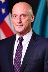 Photo of Delaware Secretary of State Jeffrey W. Bullock